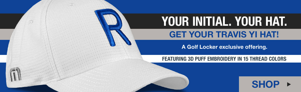 Travis Mathew 'Your Initial' Personalized Golf Hats