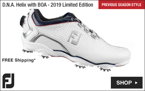 FJ D.N.A. Helix Golf Shoes with BOA Lacing System - 2019 Limited Edition - Previous Season Style