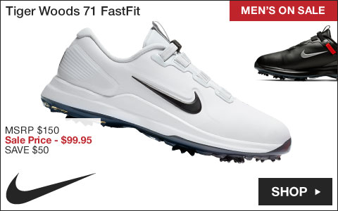 Nike Tiger Woods 71 FastFit Golf Shoes - ON SALE