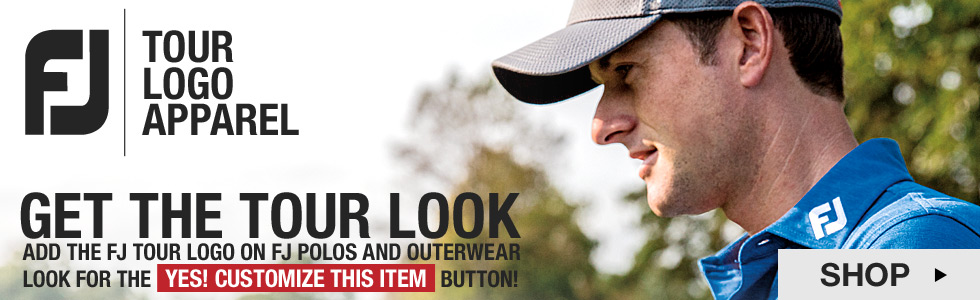 FJ Tour Logo Apparel at Golf Locker - Get The Tour Look
