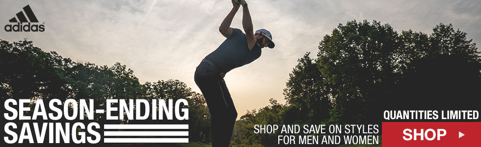 Adidas End of Season Savings at Golf Locker