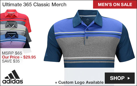 Adidas Ultimate 365 Classic Merch Golf Shirts - ON SALE