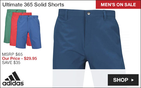 Adidas Ultimate 365 Solid Golf Shorts - ON SALE