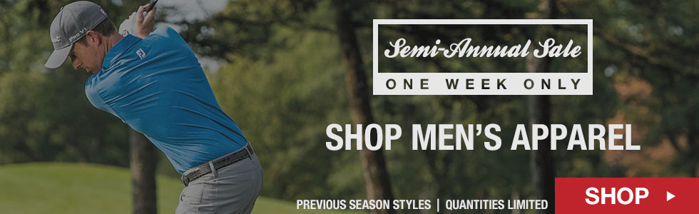 Shop All Men's Apparel - Semi-Annual Sale