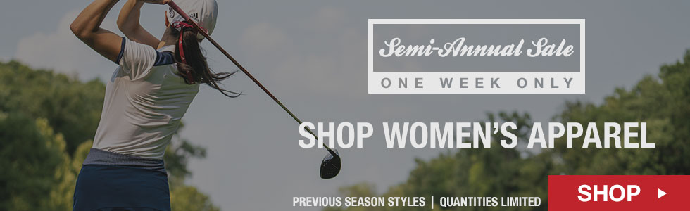 Shop All Women's Apparel - Semi-Annual Sale