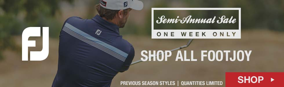 Semi-Annual Sale - Shop All FootJoy Items