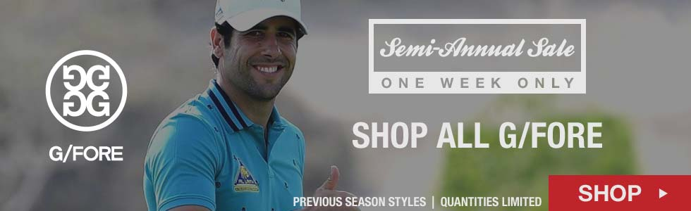 Semi-Annual Sale - Shop All G/Fore Items