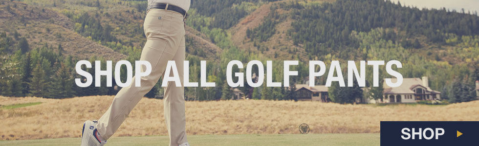 Shop All Men's Pants at Golf Locker