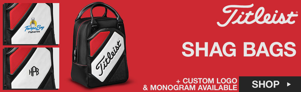 Titleist Shag Bags - ON SALE - Add Your Custom Logo or Personalized Text