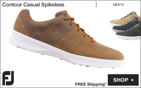 FJ Contour Casual Spikeless Golf Shoes