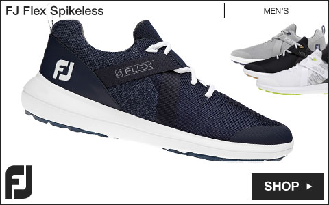 FJ Flex Spikeless Golf Shoes