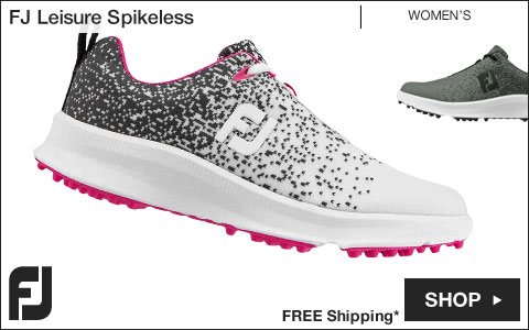 FJ Leisure Women's Spikeless Golf Shoes