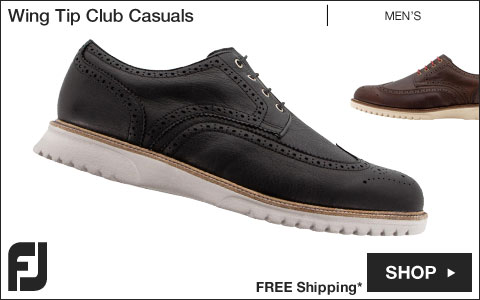 FJ Wing Tip Club Casuals Shoes
