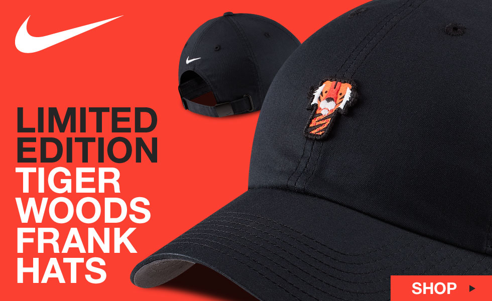 Nike Dri-FIT Tiger Woods Heritage86 Frank Adjustable Golf Hats - Limited Edition