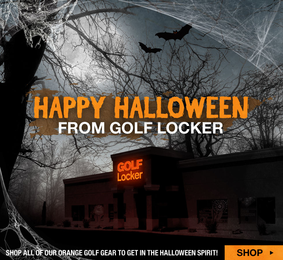 Happy Halloween from Golf Locker