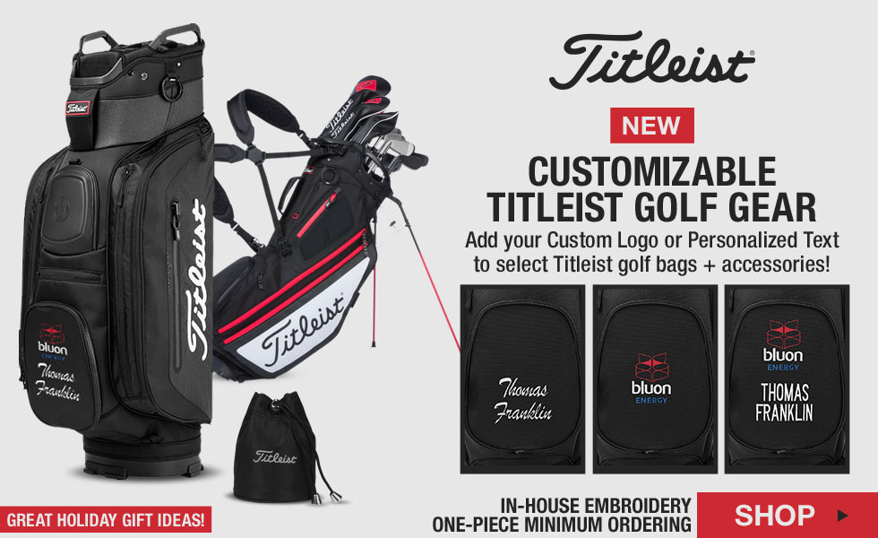 Titleist Custom Golf Bags and Accessories at Golf Locker