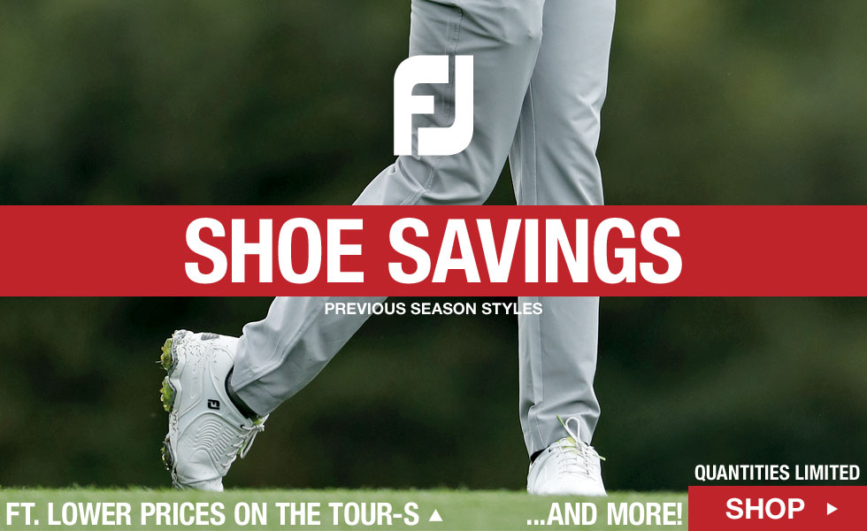 FJ Previous Season Shoe Savings