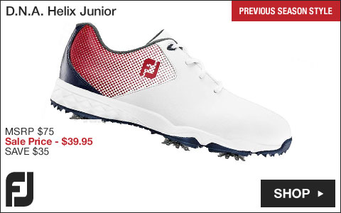 FJ 	D.N.A. Helix Junior Golf Shoes - Previous Season Style