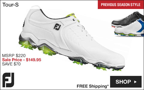 FJ Tour-S Golf Shoes - Previous Season Style