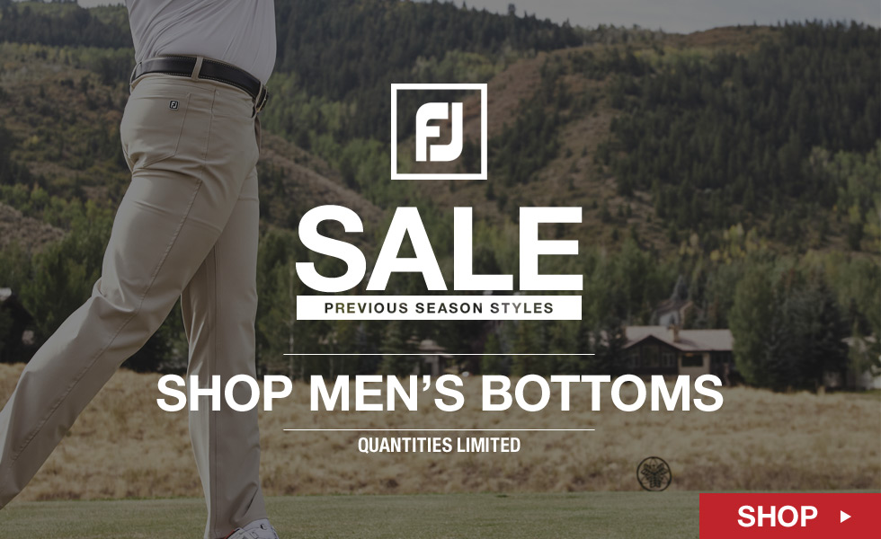 FJ Previous Season Styles Sale - Shop Men's Tops
