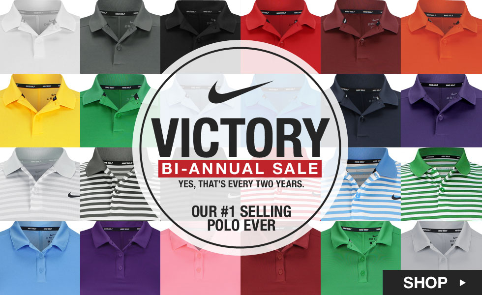 Nike Bi-Annual Victory Polo Sale at Golf Locker