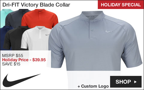 Nike Dri-FIT Victory Blade Collar Golf Shirts
