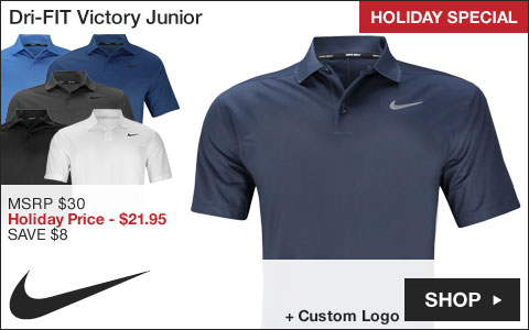 Nike Dri-FIT Victory Junior Golf Shirts