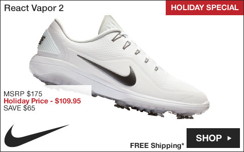 Nike React Vapor 2 Golf Shoes - HOLIDAY SPECIAL