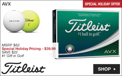 Titleist AVX Golf Balls - Special Holiday Offer