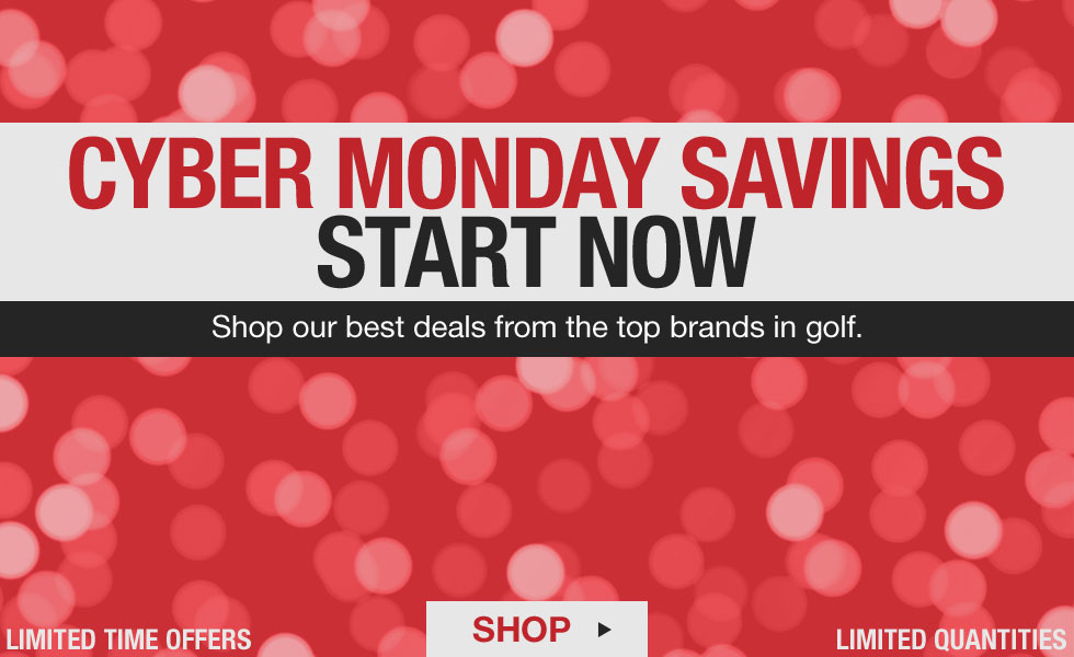 Cyber Monday Starts Now at Golf Locker
