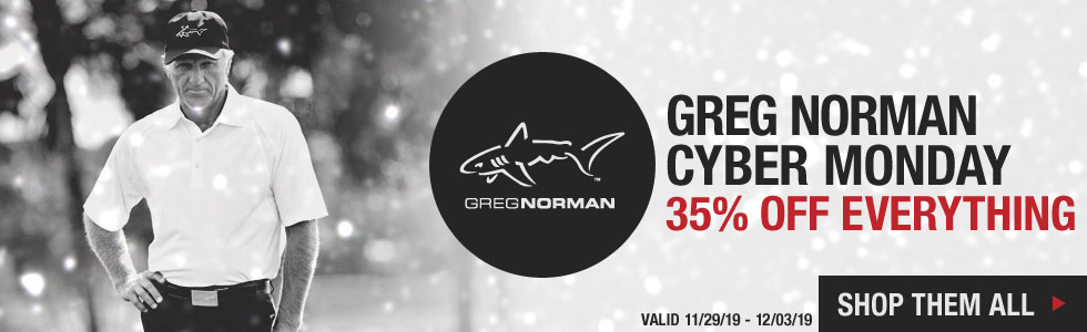 Cyber Monday Starts Now at Golf Locker - Shop All Greg Norman Deals