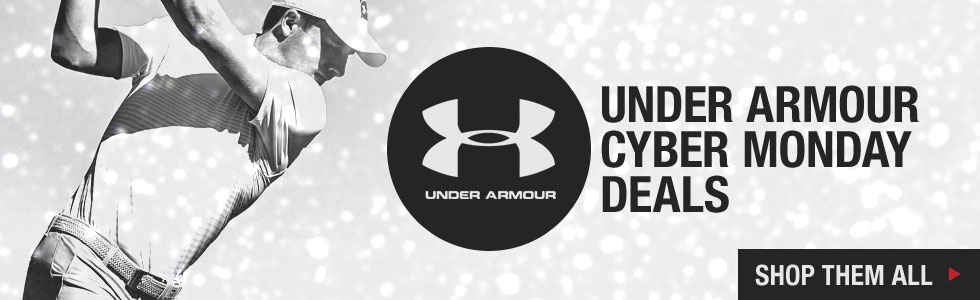 Cyber Monday Starts Now at Golf Locker - Shop All Under Armour Deals