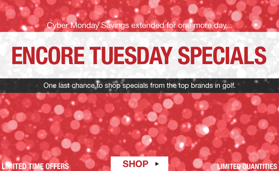 Shop All Encore Tuesday Deals at Golf Locker