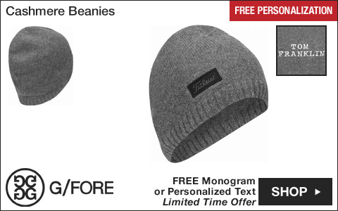 Titleist Cashmere Golf Beanies - HOLIDAY SPECIAL