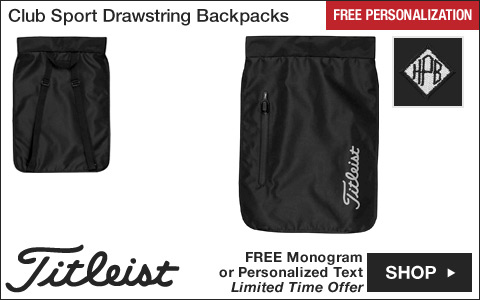 Titleist Club Sport Golf Drawstring Backpacks - HOLIDAY SPECIAL