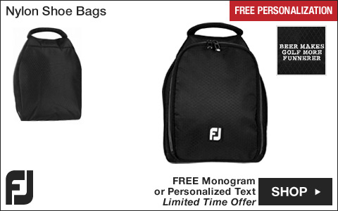 FJ Nylon Golf Shoe Bags