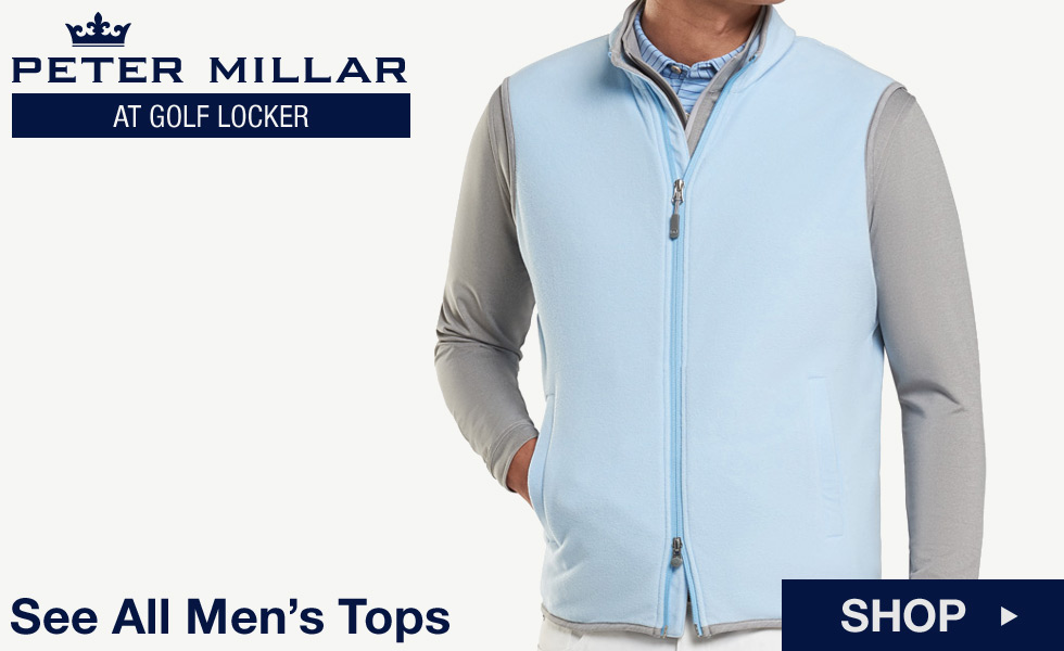 Peter Millar at Golf Locker - Shop All Men's Tops