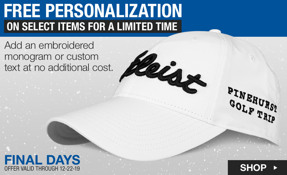Final Day - Free Embroidery Personalization