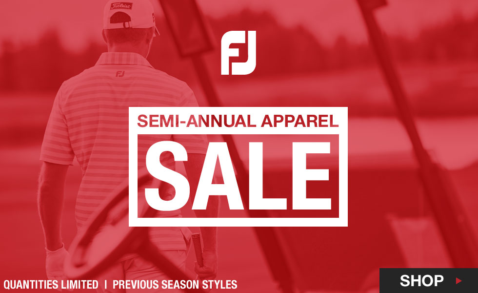 FJ Semi-Annual Apparel Sale at Golf Locker - Previous Season Styles