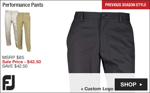 FJ Performance Golf Pants - Previous Season Style - ON SALE