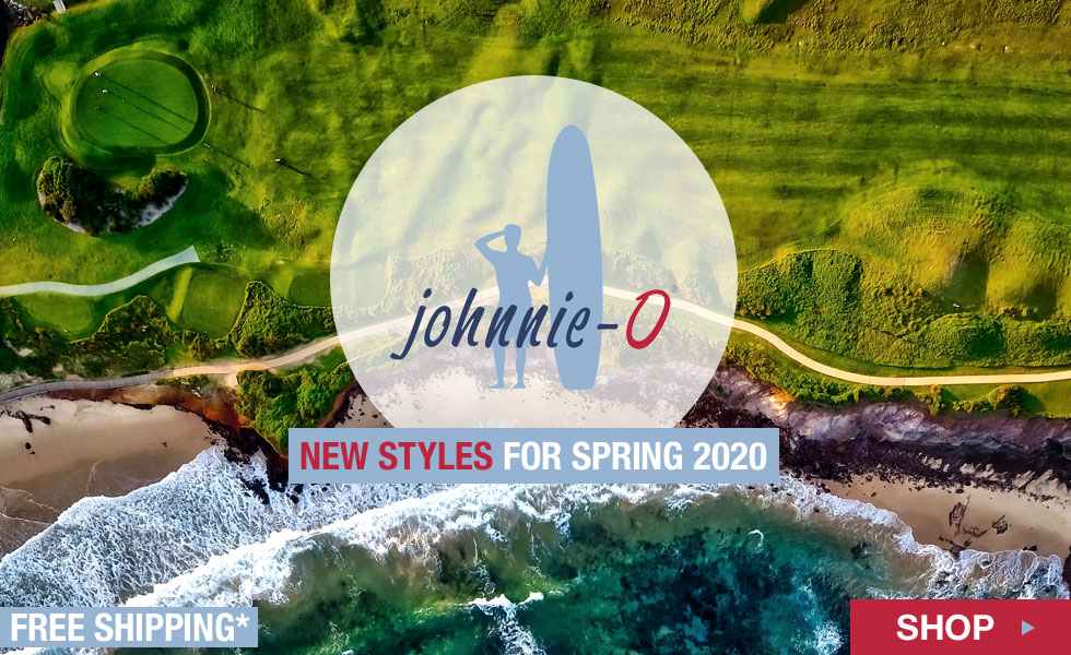 New johnnie-O Spring 2020 Apparel at Golf Locker