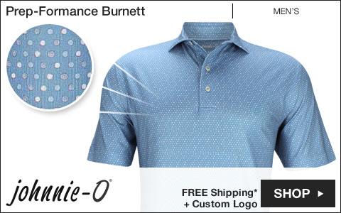 Johnnie-O Prep-Formance Burnett Golf Shirts