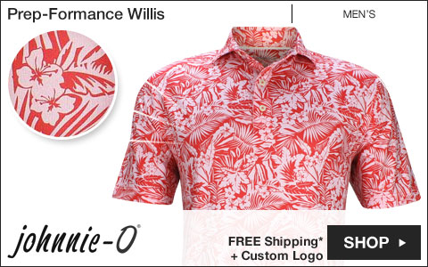 Johnnie-O 	Prep-Formance Willis Golf Shirts