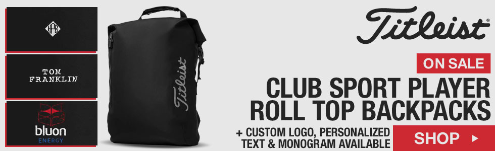 Titleist Club Sport Player Roll Top Backpacks - ON SALE