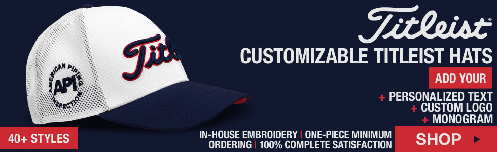 Titleist Golf Hats - Customize Yours!