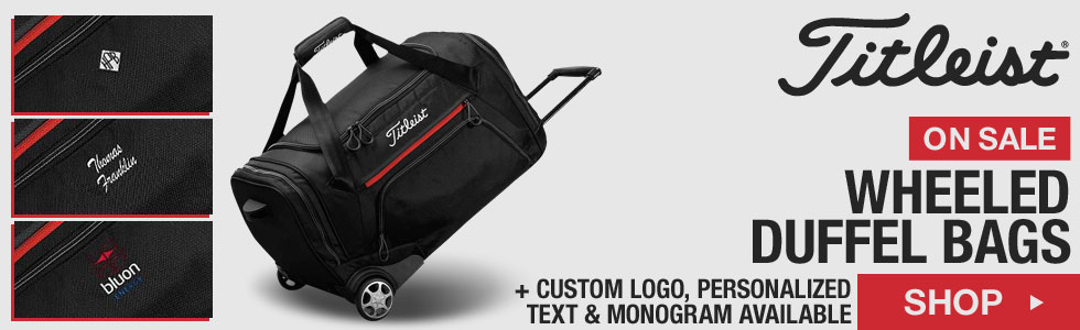 Titleist Wheeled Duffel Bags - ON SALE