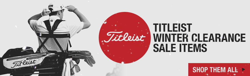 The Winter Clearance Sale Starts Now at Golf Locker - Shop All Titleist Styles