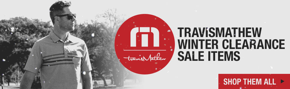 The Winter Clearance Sale Starts Now at Golf Locker - Shop All TravisMathew Styles