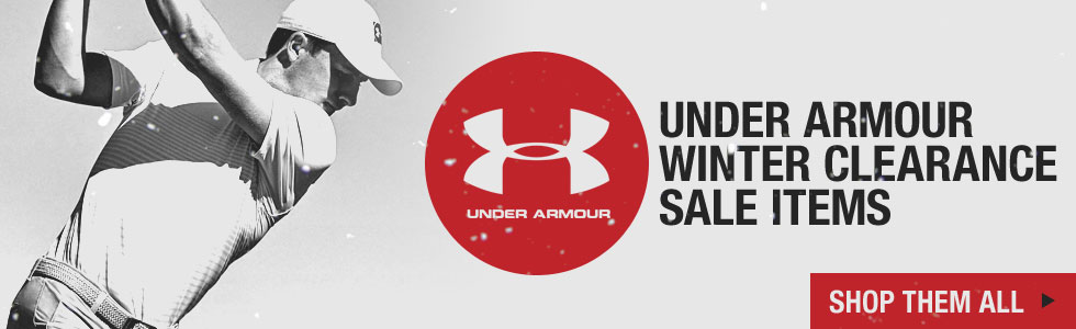The Winter Clearance Sale Starts Now at Golf Locker - Shop All Under Armour Styles