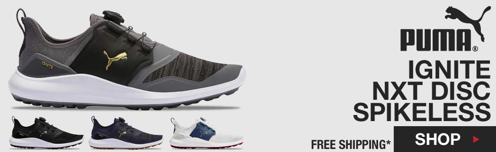PUMA Ignite NXT Disc Spikeless Golf Shoes